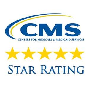 CMS star rating