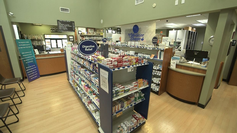 Medicine Shoppe Sherman TX lobby