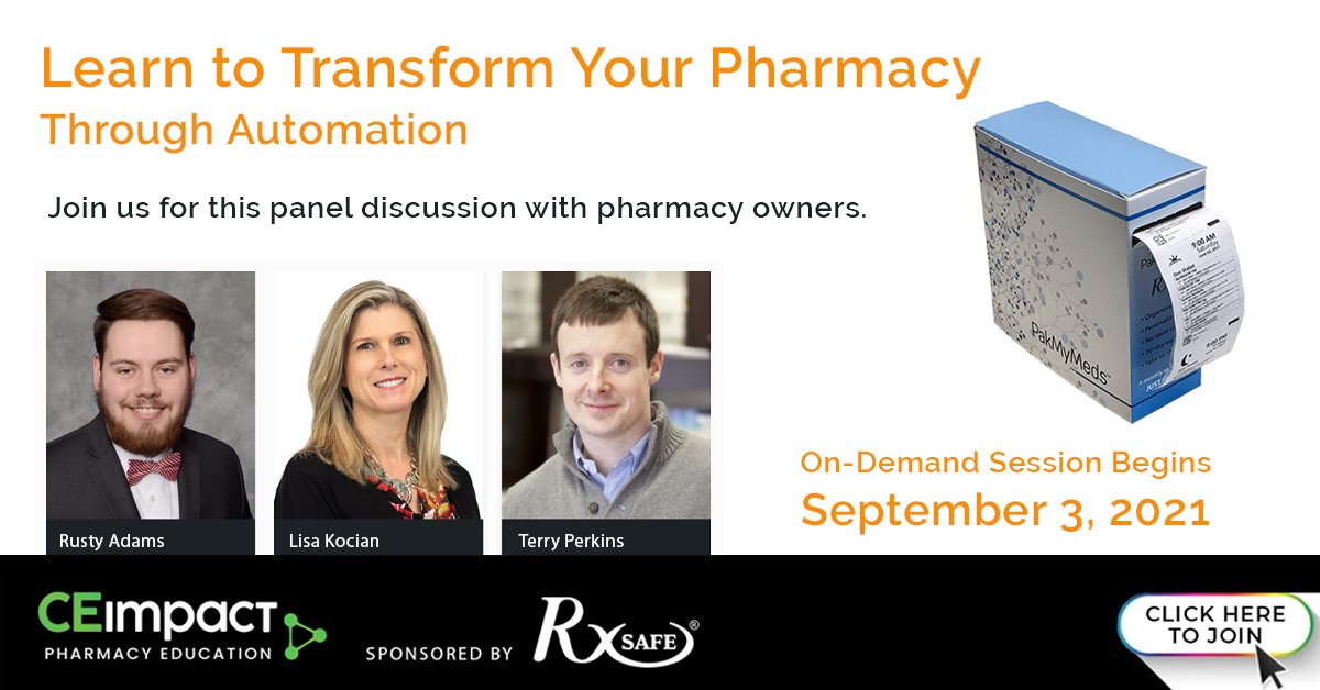 RxSafe CEImpact Transform Your Pharmacy