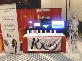 RxSafe booth at WPE 2021